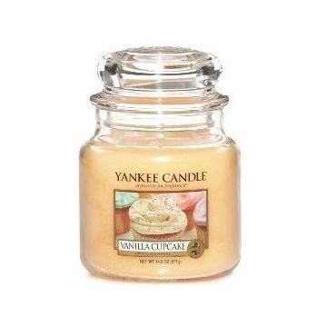 Średnia świeca Vanilla Cupcake Yankee Candle