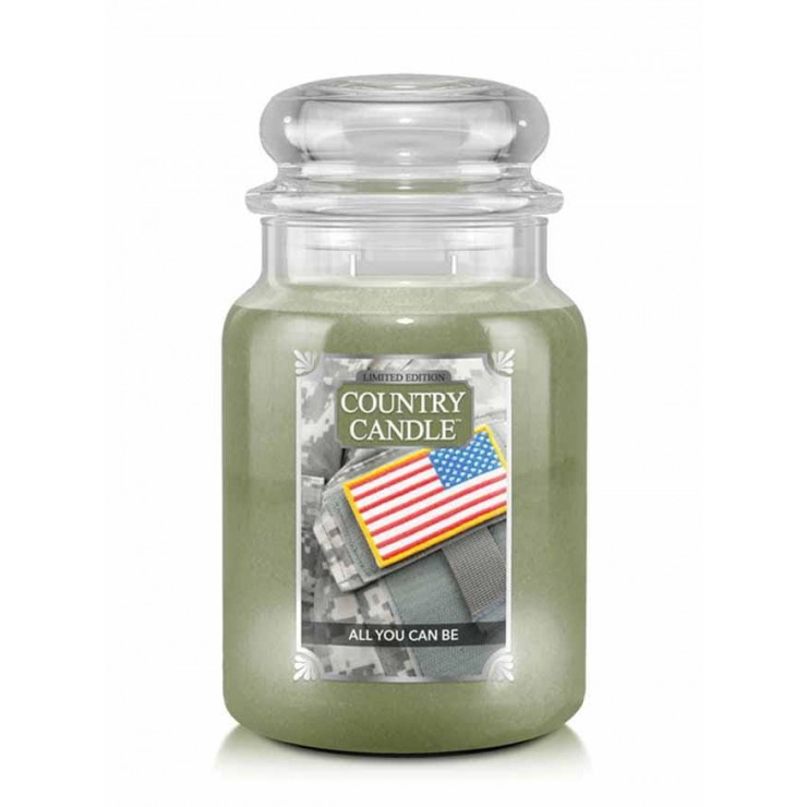 Duża świeca All You Can Be Country Candle