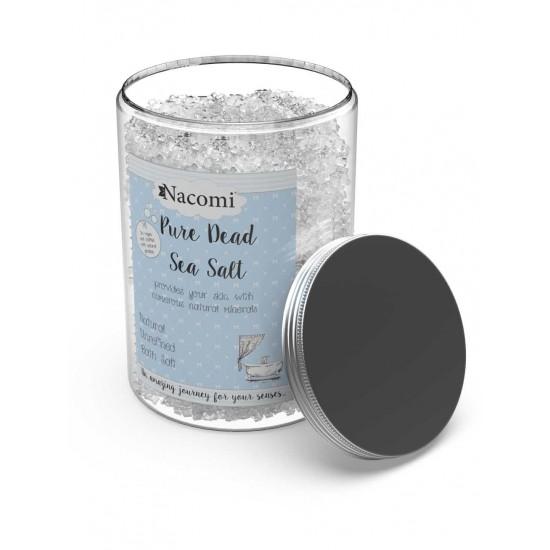 Czysta sól z morza martwego 1400g Nacomi