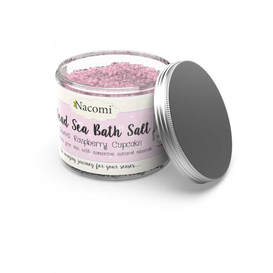 Sól z morza martwego malina 450g Nacomi
