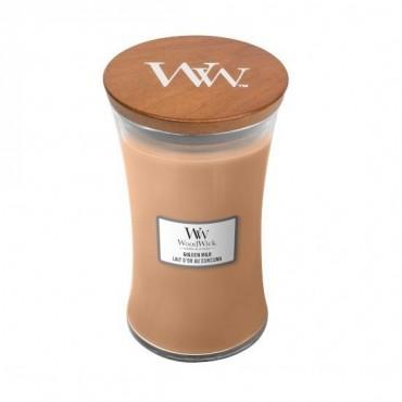 Duża Świeca Golden Milk WoodWick