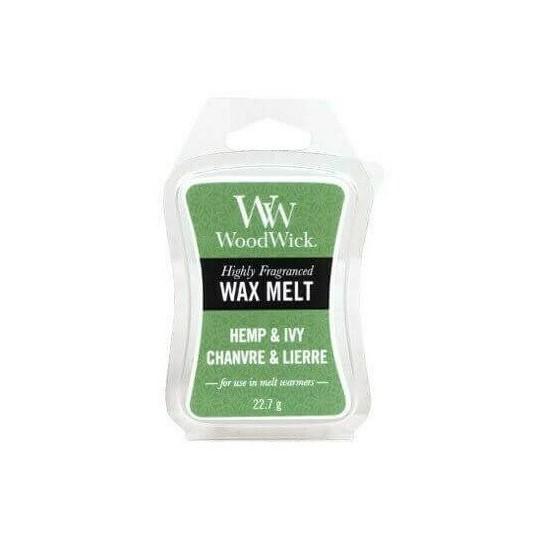 Wosk zapachowy Hemp & Ivy WoodWick