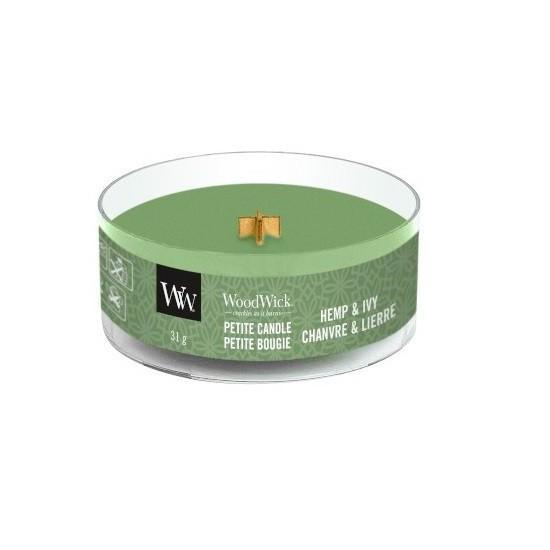 Świeca Petite Hemp & Ivy WoodWick