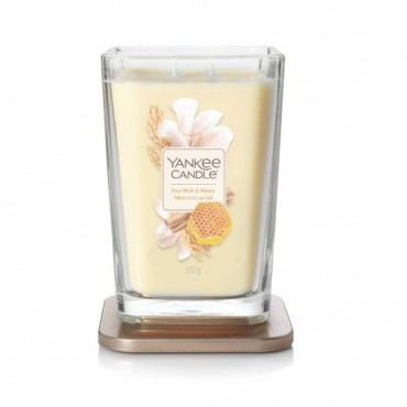 Elevation duża świeca Rice Milk & Honey Yankee Candle
