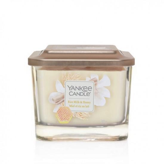 Elevation średnia świeca Rice Milk & Honey Yankee Candle
