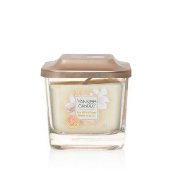 Elevation mała świeca Rice Milk & Honey Yankee Candle