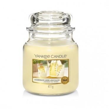 Średnia świeca Homemade Herb Lemonade Yankee Candle