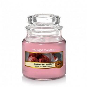 Mała świeca Roseberry Sorbet Yankee Candle