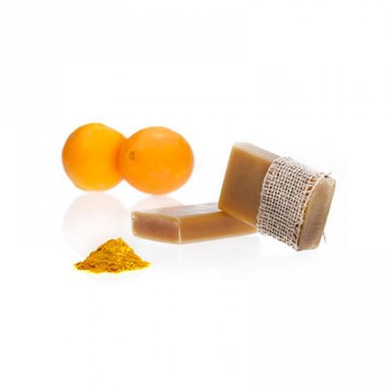 Mydło rewitalizujące Pomarańcza z Kurkumą