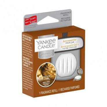 Charming Scents uzupełniacz Leather Yankee Candle