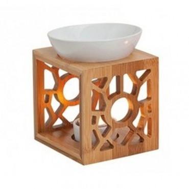 Kominek do wosków Bambusowy...