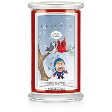 Duża świeca Catching Snowflakes Kringle Candle