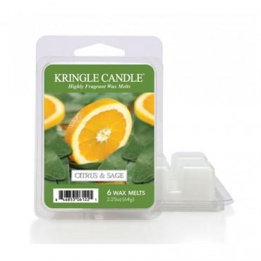 Wosk zapachowy Citrus & Sage Kringle Candle
