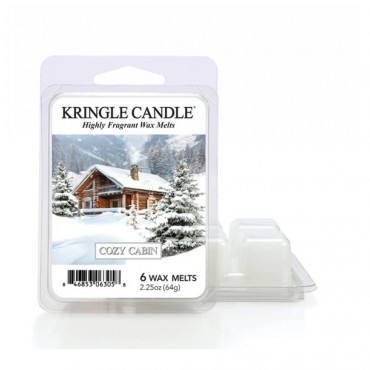 Wosk zapachowy Cozy Cabin Kringle Candle