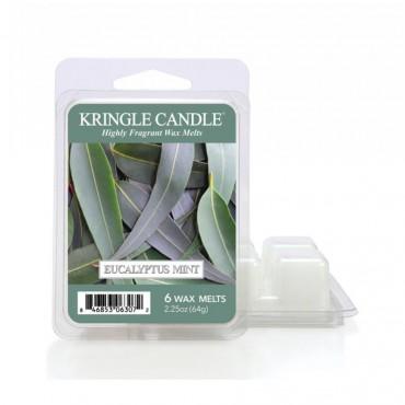 Wosk zapachowy Eucalyptus Mint Kringle Candle