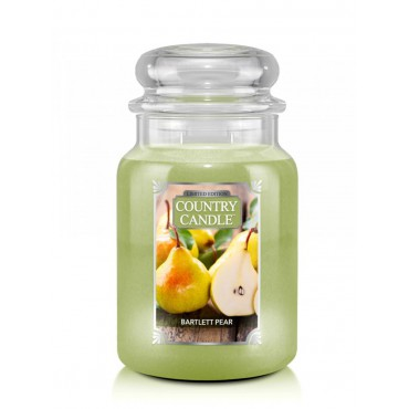 Duża świeca Bartlett Pear Country Candle