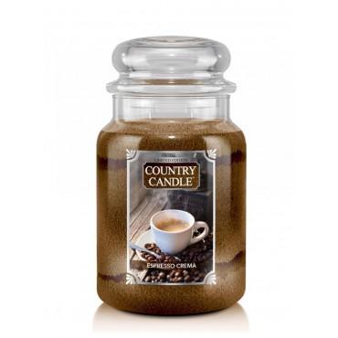 Duża świeca Espresso Crema Country Candle