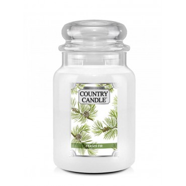 Duża świeca Fraser Fir Country Candle