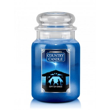 Duża świeca Gift Of Kings Country Candle