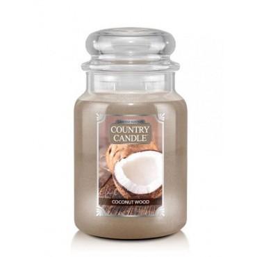 Duża świeca Coconut Wood...