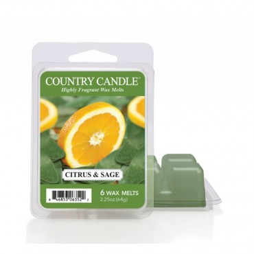 Wosk zapachowy Citrus and Sage Country Candle
