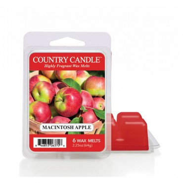 Wosk zapachowy Macintosh Apple Country Candle