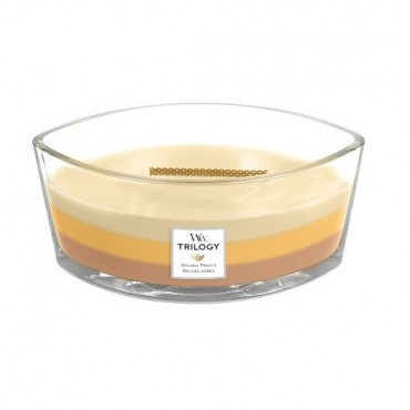 Świeca Hearthwick Trilogy Golden Treats WoodWick