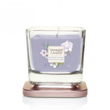 Elevation średnia świeca Sea Salt & Lavender Yankee Candle
