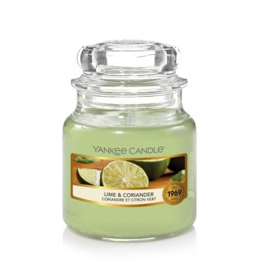 Mała świeca Lime & Coriander Yankee Candle