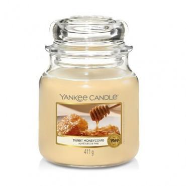Średnia świeca Sweet Honeycomb Yankee Candle