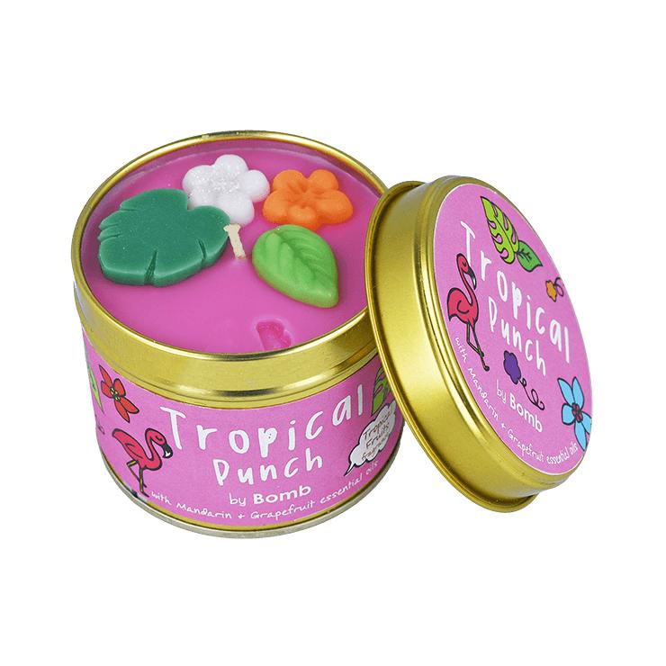 Świeca zapachowa w puszce Tropical Punch Bomb Cosmetics