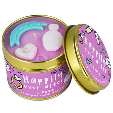 Świeca zapachowa w puszce Happily Ever After Bomb Cosmetics