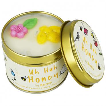 Świeca zapachowa w puszce Uh huh Honey Bomb Cosmetics