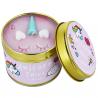 Świeca zapachowa w puszce Unicorn Tales Bomb Cosmetics