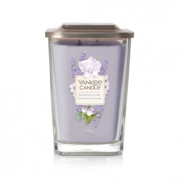 Elevation duża świeca Sea Salt & Lavender Yankee Candle