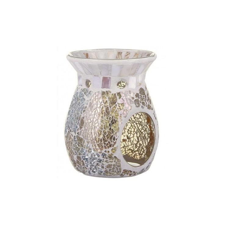 Kominek Gold & Pearl Crackle Yankee Candle