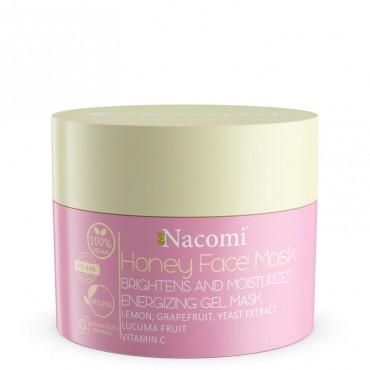 Maska miodowa rozświetlająco-nawilżająca Honey Face Mask 50ml Nacomi