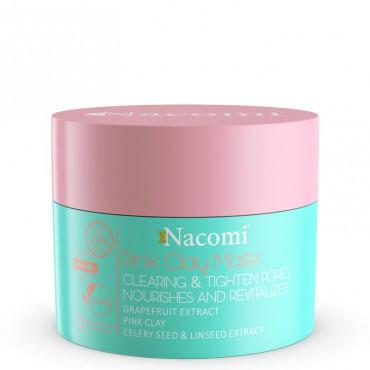 Maska różowa oczyszczająco-ściągająca 50ml Pink Clay Mask Nacomi