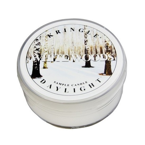 Daylight świeczka White Woods Kringle Candle