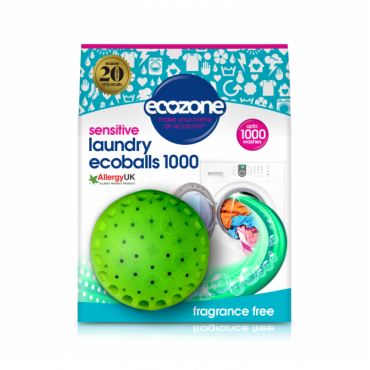 Ecoballs kule piorące na 1000 prań SENSITIVE bezzapachowe Ecozone