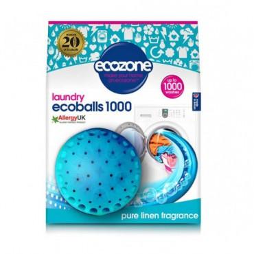 Ecoballs kule piorące na 1000 prań Pure Linen zapach świeżości Ecozone