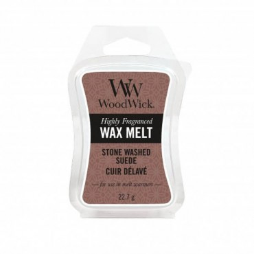 Wosk Stone Washed Suede WoodWick