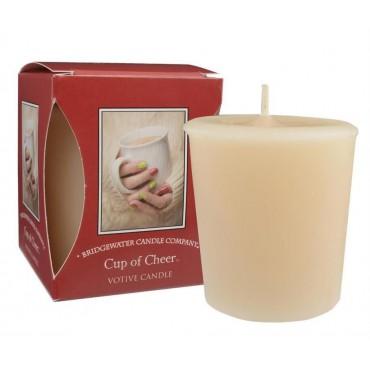Świeca zapachowa Votive Cup of Cheer 56 g Bridgewater Candle