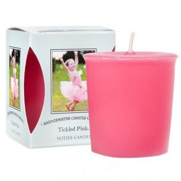 Świeca zapachowa Votive Tickled Pink 56 g Bridgewater Candle