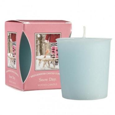 Świeca zapachowa Votive Snow Day 56 g Bridgewater Candle