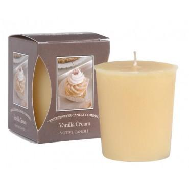 Świeca zapachowa Votive Vanilla Cream 56 g Bridgewater Candle