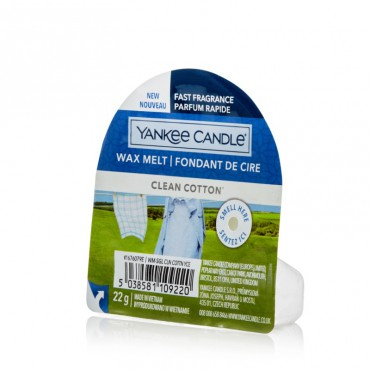 Wosk zapachowy Clean Cotton Yankee Candle