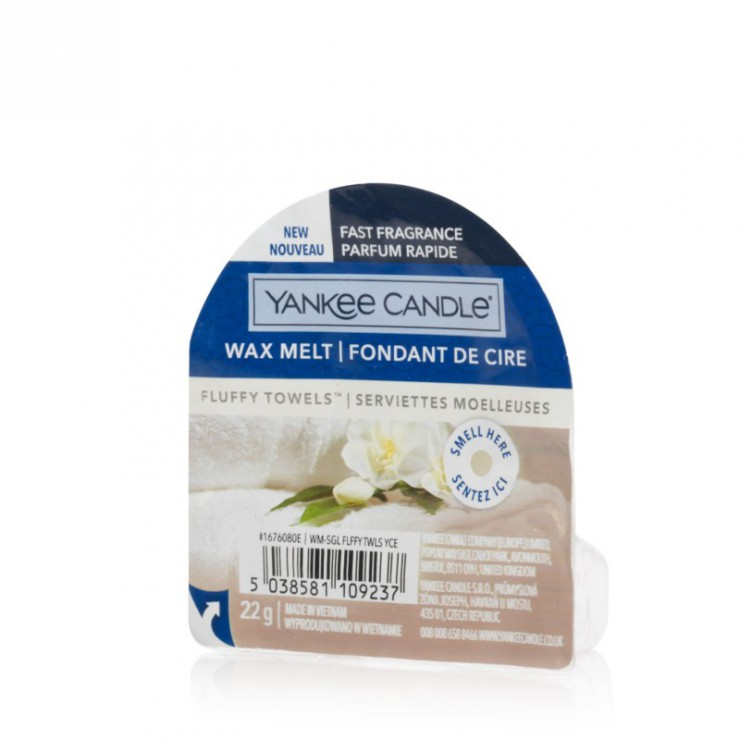 Wosk zapachowy Fluffy Towels Yankee Candle