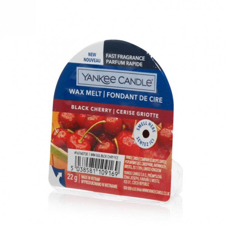 Wosk zapachowy Black Cherry Yankee Candle