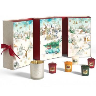 Magical Christmas Morning - zestaw w formie kalendarza adwentowego książka Yankee Candle